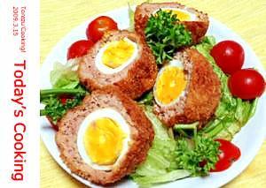 うずら卵のスコッチエッグ