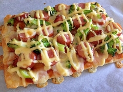 おうちでお手軽絶品ピザ!コストコ食材をふんだんに♪
