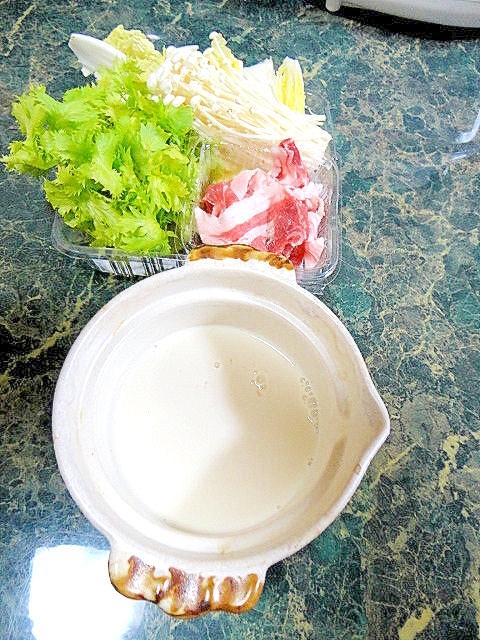 一人豆乳鍋