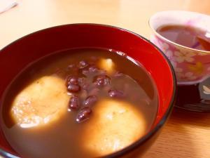 もちもち☆ぷるぷる食感のお豆腐白玉ぜんざい