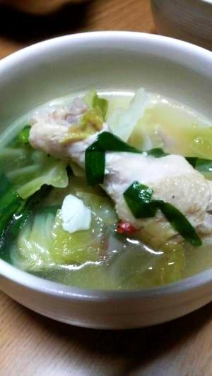 体を温める美肌スープ