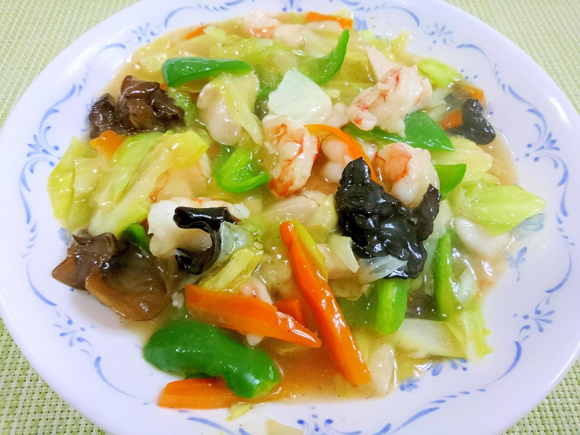 6. 定番の野菜炒め(八宝菜)