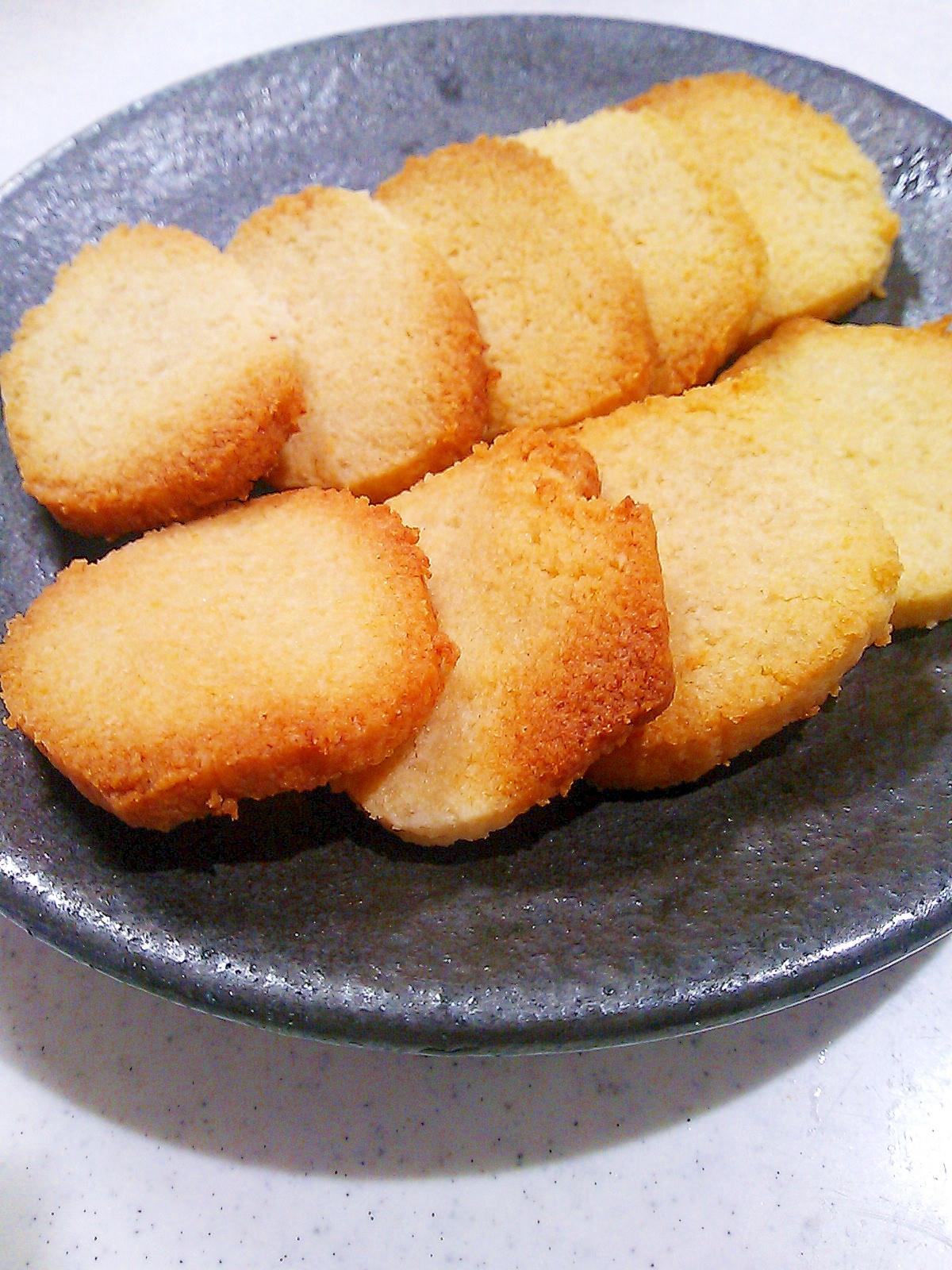 【糖質制限】レモンクッキー改訂版