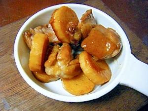 鶏と山芋のはちみつしょうが炒め