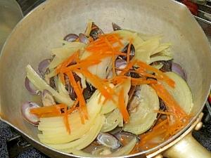 シジミの醤油煮