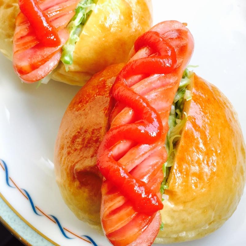 ミニホットドッグ☆朝食やお弁当に