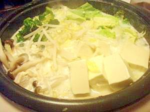 豆乳鍋・〆はトマトチーズリゾット!!