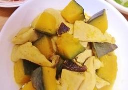 南瓜と高野豆腐の柔らか~い含め煮