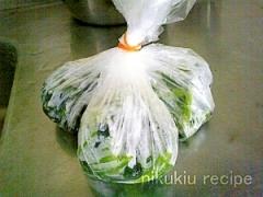 簡単長持ち!1~2ヶ月持つほうれん草冷凍保存!