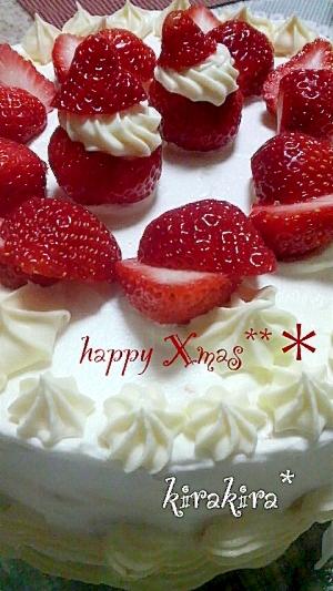 クリスマスケーキ☆2011ver,