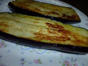 茄子のステーキ