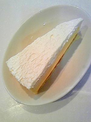 カボチャのレアチーズケーキ★