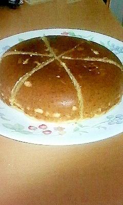 炊飯器で手間いらず☆おさつパンケーキ