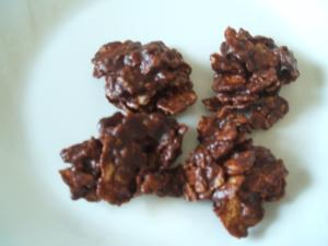 コーンフレークでお手軽★チョコクランチ レシピ・作り方