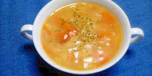 圧力鍋で☆野菜スープ