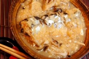 圧力鍋で骨まで食べられる、秋刀魚のあっさり霙煮