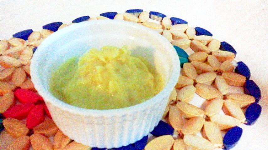 焼き芋の豆乳クリーム