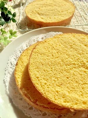 スポンジ ケーキ クックパッド