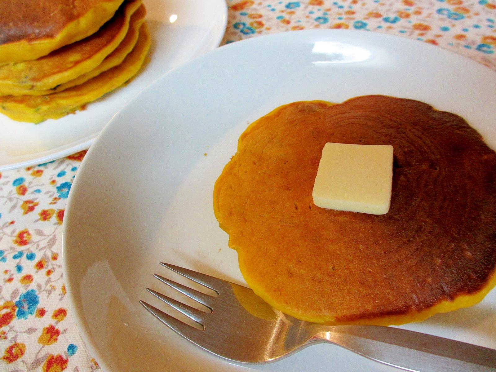 〔お手伝いレシピ〕はかりなしでかぼちゃのパンケーキ
