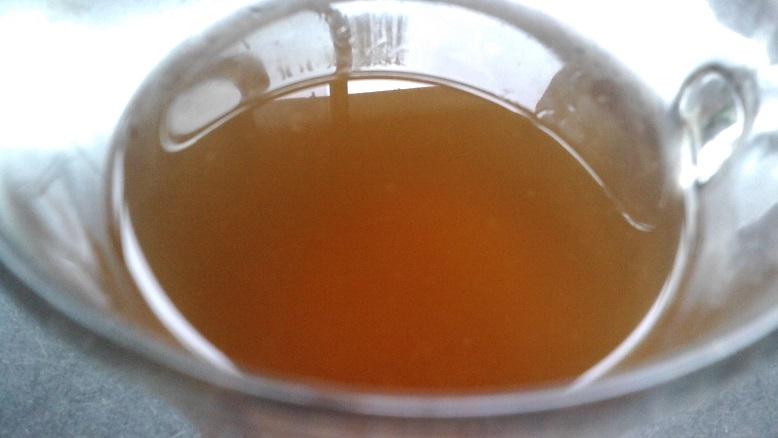 6. 麦茶のはちみつスダチ汁割り
