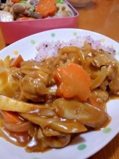 おせち料理(煮しめ)リメイク☆和風カレー♪