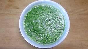 セロリ葉とグレープフルーツのスープ