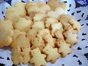 簡単・かわいい型抜きクッキー
