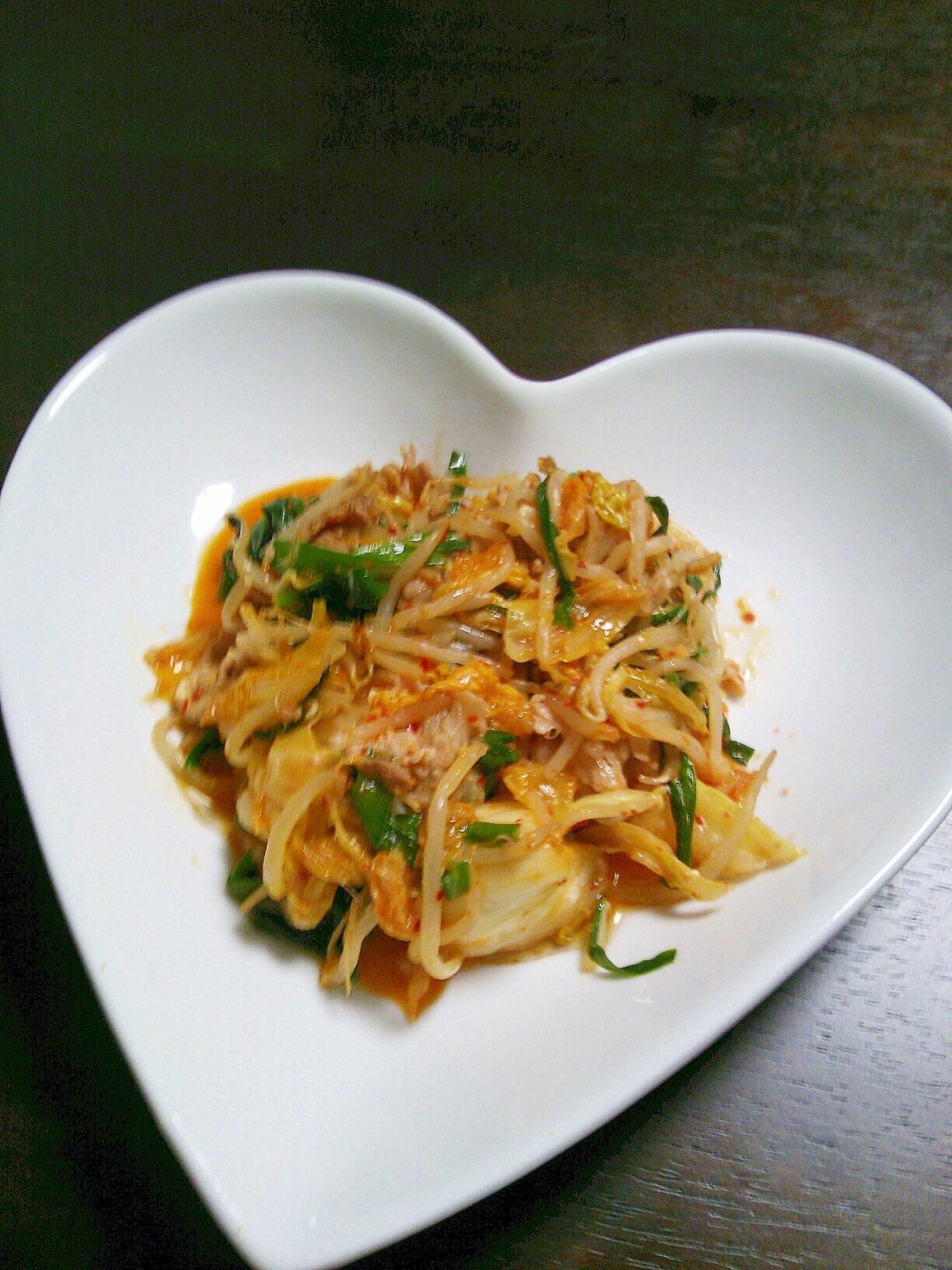 スタミナ料理★豚キムチ