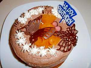 簡単誕生日ケーキ