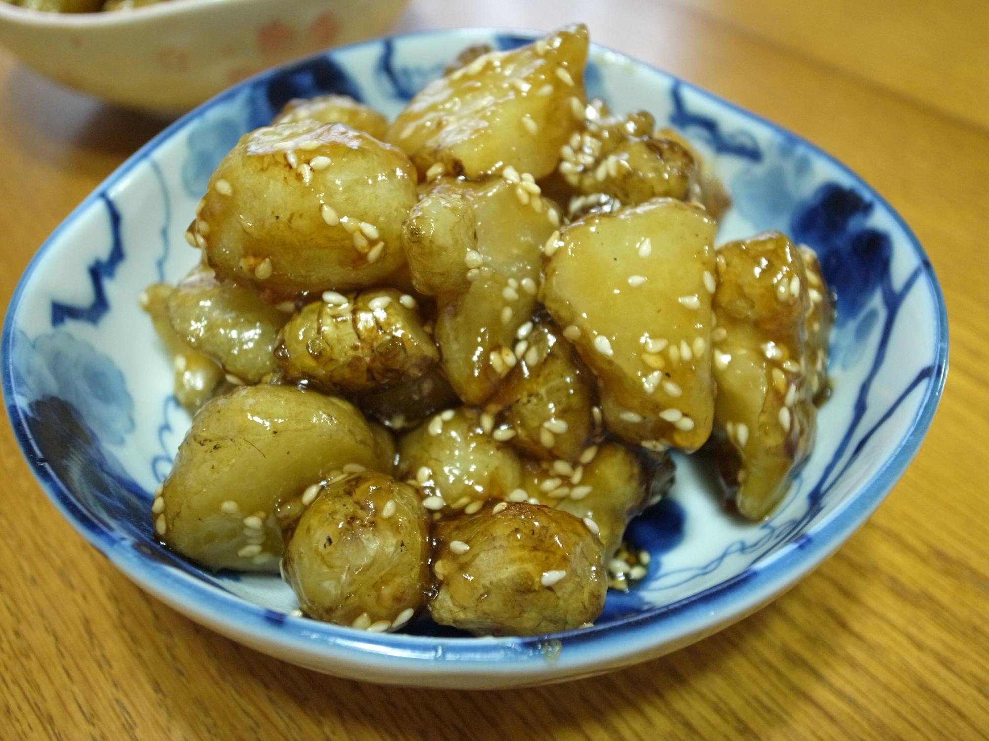 菊芋の甘辛揚げ レシピ・作り方