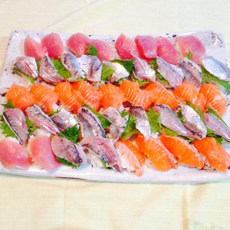 おうちでお寿司三昧