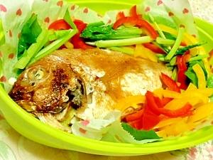 レンジで簡単連子鯛の醤油麹蒸し