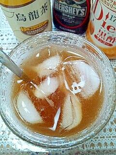 HERSHEY'Sで☆マンゴー酢チョコ烏龍茶♪