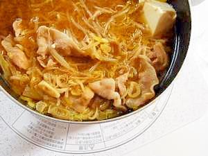 甘辛味噌ダシ鍋スープ