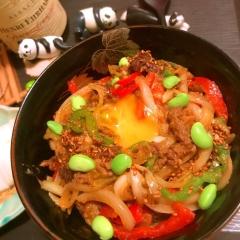 簡単美味しい韓国風スタミナぎゅう牛丼