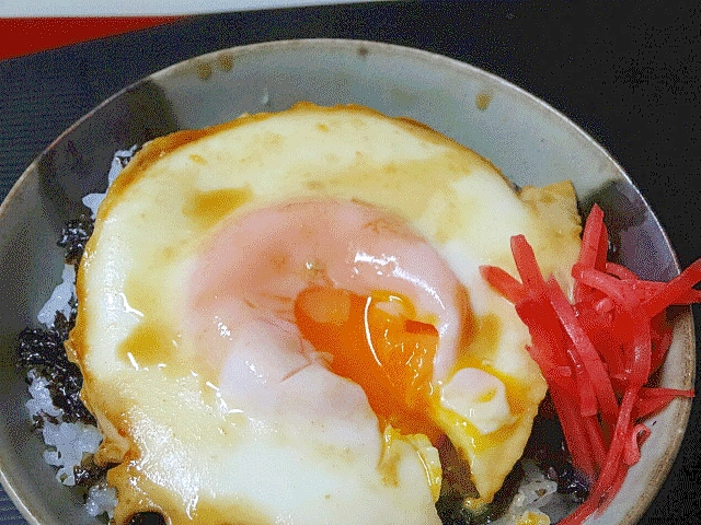 リメイクで感動の旨さ!「煮たまご海苔丼」