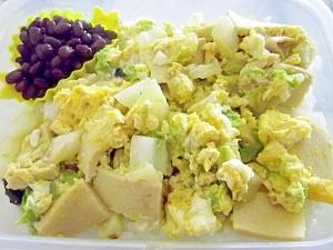 白菜と高野豆腐の玉子とじ弁当