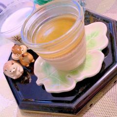 薫り拡がる(´・ω・)っ旦~お煎茶ぷりん