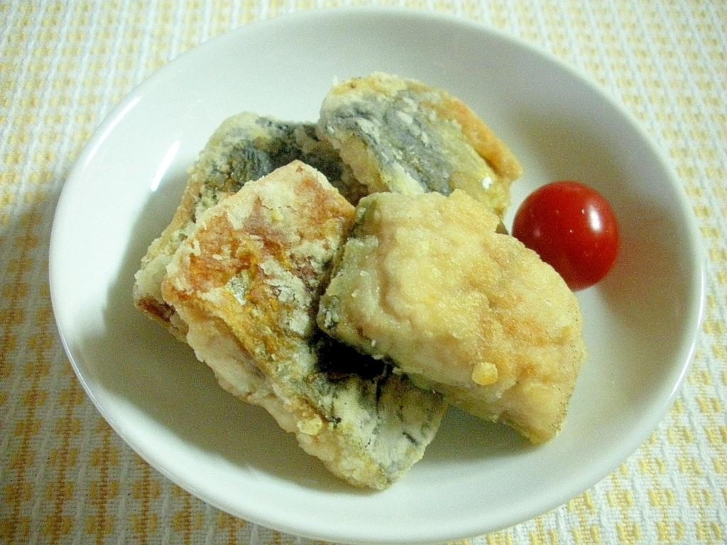 お夜食、お弁当に、カリッと熱々!さんまの竜田揚げ♪