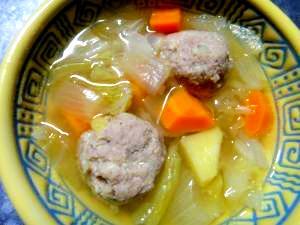 肉団子☆野菜スープ