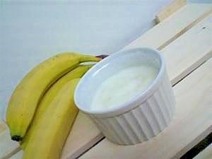 ヨーグルトミルクバナナゼリー