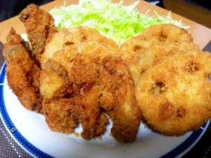 サクサク牡蠣フライ