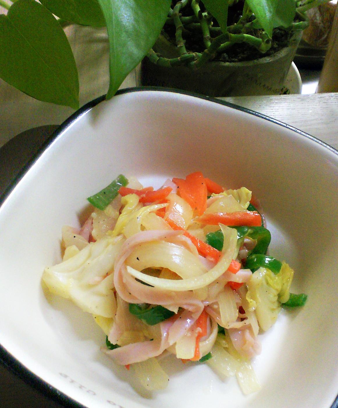 塩麹を使った副菜→お弁当にも使い回し