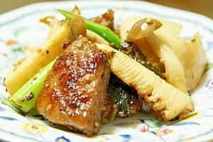 激旨惣菜!豚肉と筍の高菜炒め