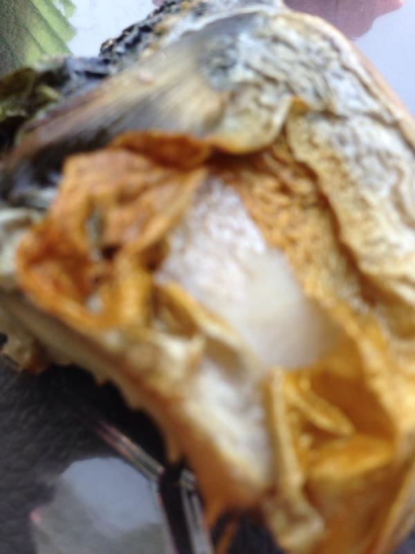 お弁当に、鯖の塩焼き(^o^)