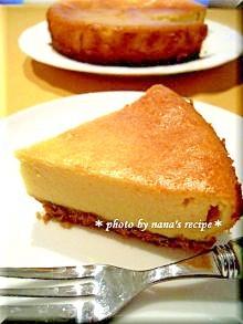 フープロで簡単ベイクドチーズケーキ