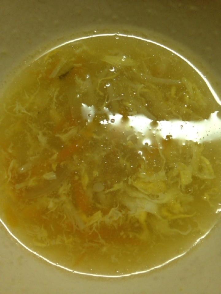 コンソメカレースープ