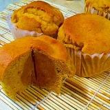 かぼちゃ餡入りどっしりかぼちゃマフィン