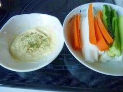 ☆野菜スティックに♪ 濃厚チーズ味噌マヨディップ☆