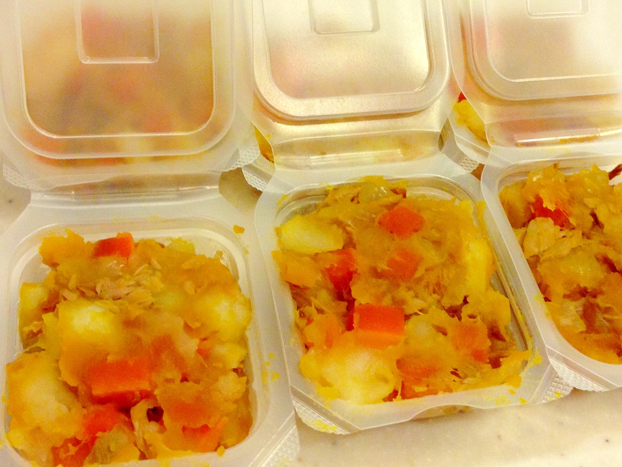 離乳食中期☆炊飯器で簡単おかずのフリージング レシピ・作り方
